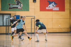 Futsal Competitive Gameplay Defending