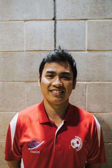 Aiz Syafiq Brisbane Central Futsal Coach