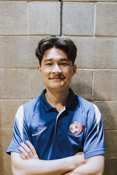 Dan Brisbane Central Futsal Coach