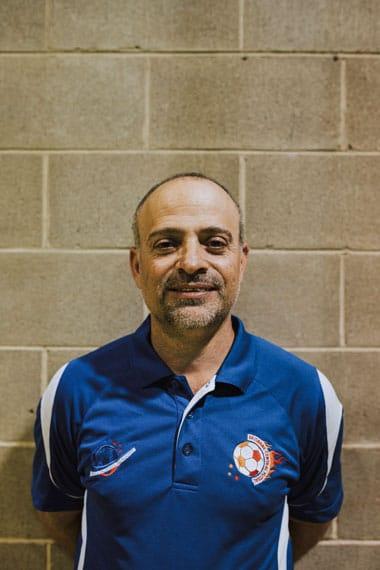 Michael Contoudios Brisbane Central Fustal Coach